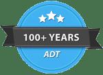 100+ Years History Badge