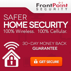 Frontpoint Security Banner