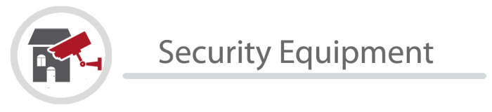 Security Equipment banner