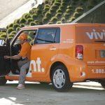Vivint Installation Car & Technician