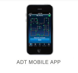 Mobile ADT Pulse app