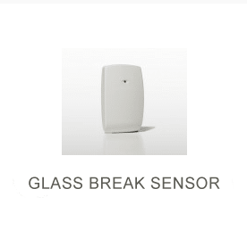 White glass break sensor