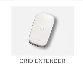 Small white rectangular box Grid Extender security Equipment