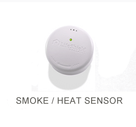 Proprietary heat sensor security equipment