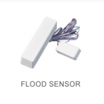Flood sensor with wires