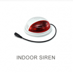Indoor siren with red flashable light