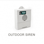 Outdoor siren box