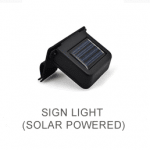 Black solar light