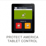 iPad displaying Protect Americas app