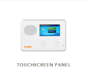 Standard 2gig touchscreen security panel