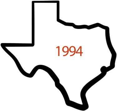 Texas icon with 1994 in middle