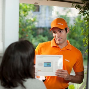 2018 vivint reviews is their smarthome security system for Door to door sales