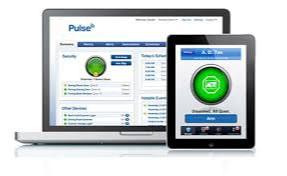 Laptop and iPad running ADT Pulse app