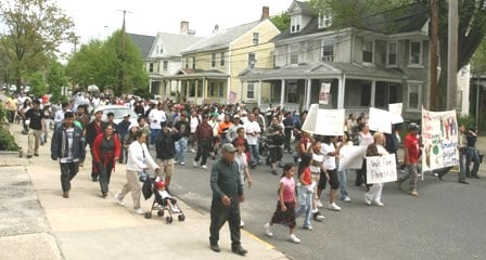 Bridgeton NJ protest