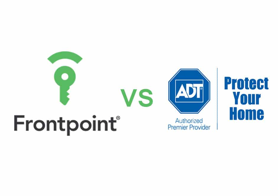 Frontpoint vs adt by alarm reviews battle shown in detail for Frontpoint home security