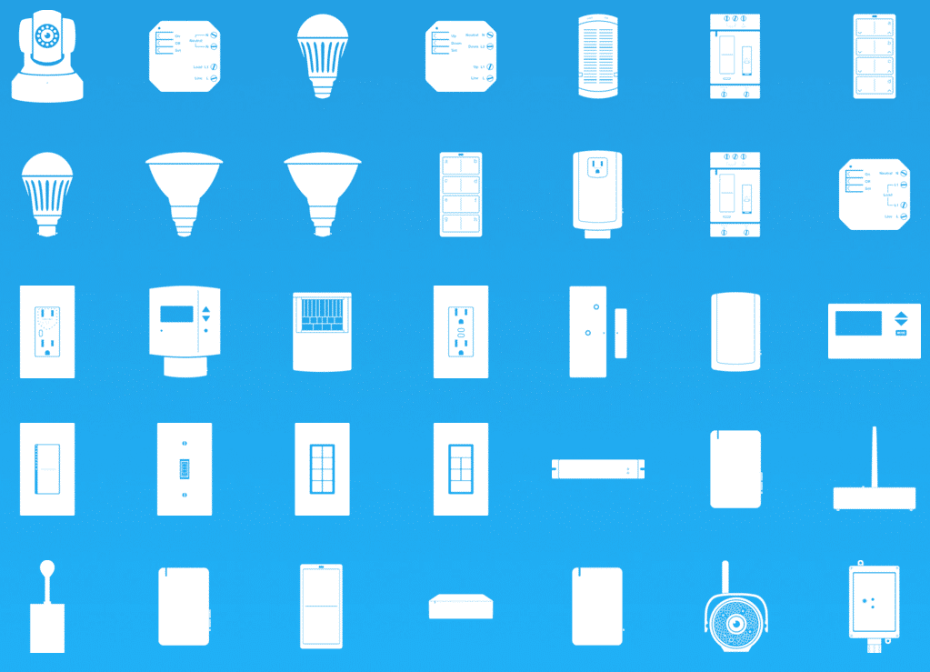 Screenshot of 30 Insteon Products