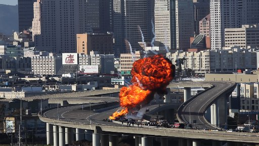 Oakland crime scene