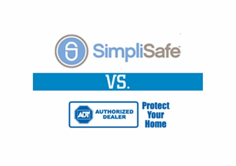 simplisafe vs adt comparison of their security system reviews. Black Bedroom Furniture Sets. Home Design Ideas