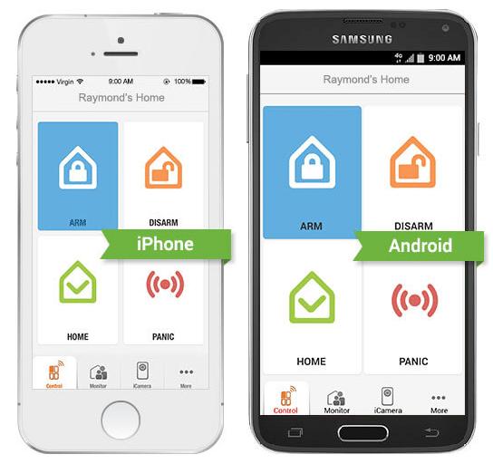 iSmartAlarm mobile app
