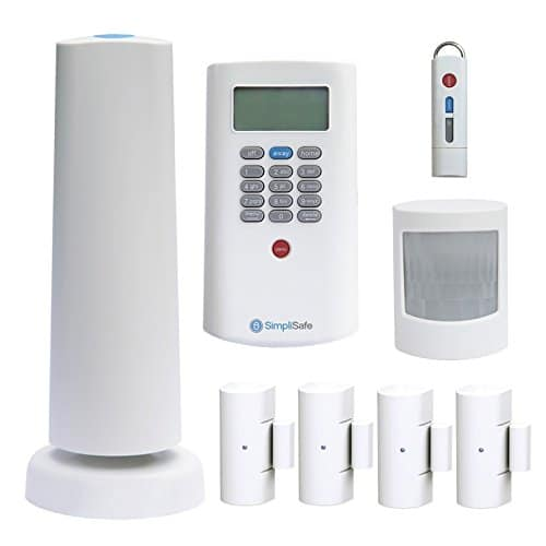 simplisafe2 wireless home security system 8-piece package