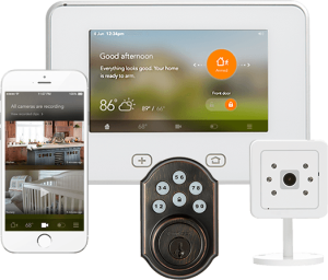 vivint sky smart home control system