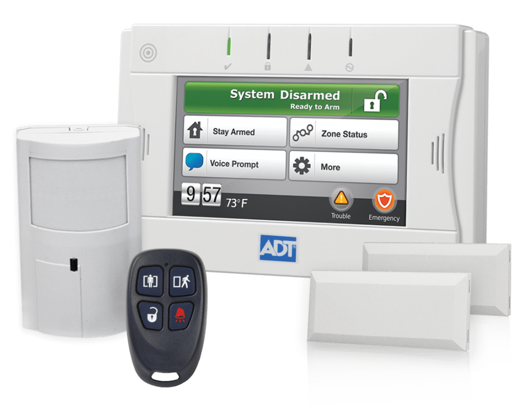 Adt reviews 2018 buyers guide for an adt pulse alarm system pros cons history of the big blue giant adt solutioingenieria Image collections