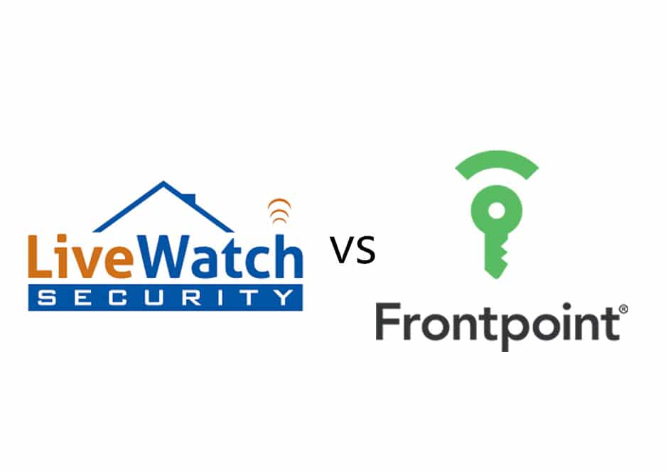 Livewatch Vs Frontpoint Compare Price Security System
