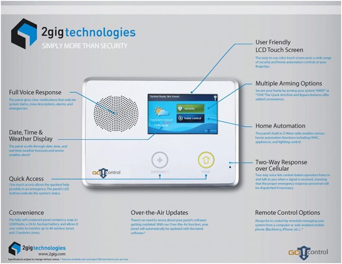 2gig go control security system reviews pros cons - Reasons why you need invest home automation system ...