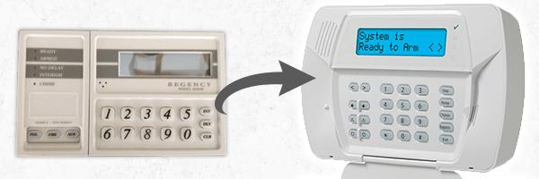 old alarm system
