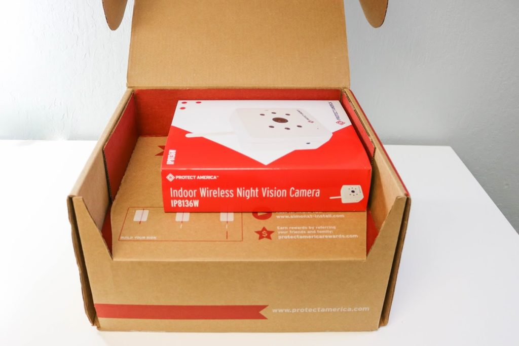 protect america alarm system in box