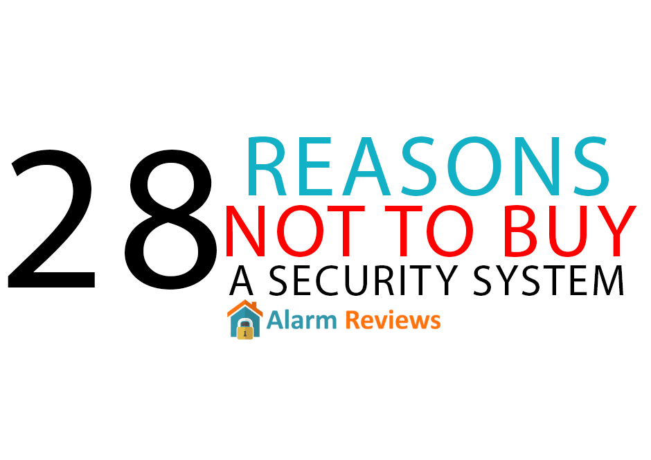 28 reasons why not to buy a home security system for Buy house alarm system