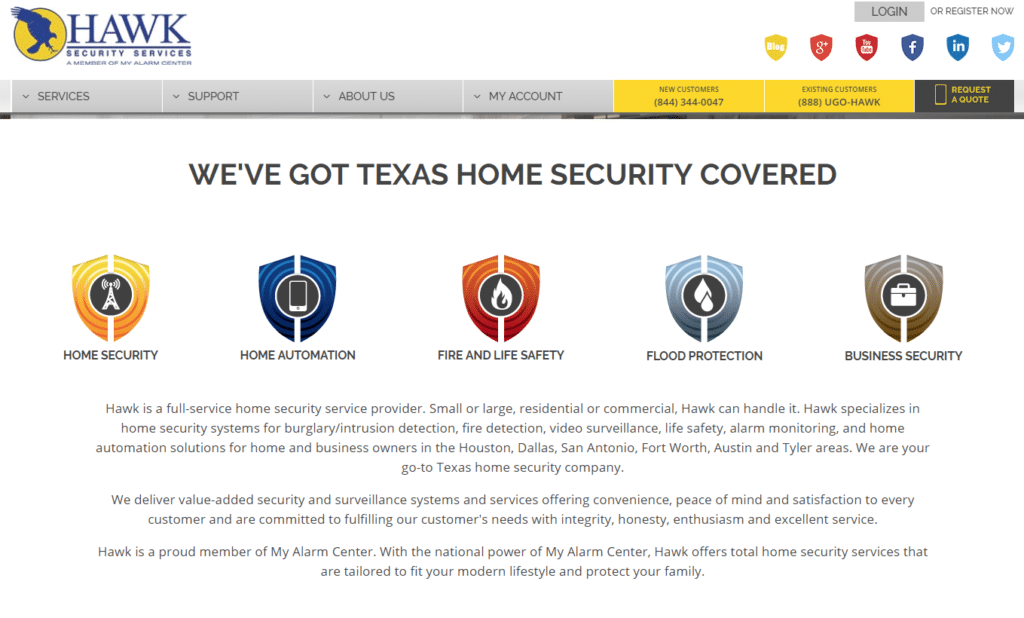 Home Security Systems Comparison Houston
