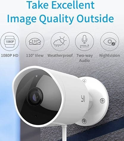 Top 10 Outdoor Security Cameras 2019 -