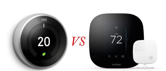 Nest 3rd Gen vs. Ecobee4