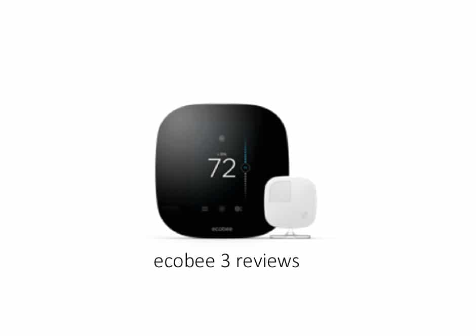 Ecobee3 Smart Thermostat Reviews