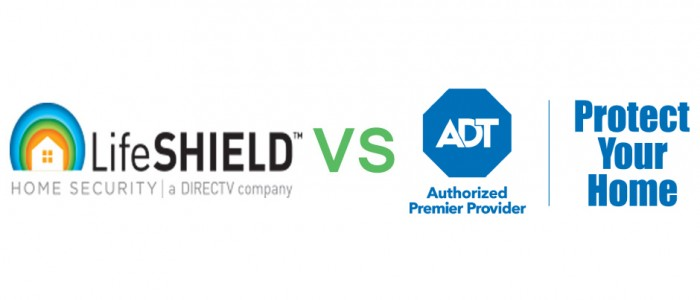 ADT VS LifeShield Security
