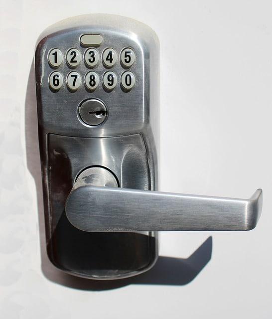 deadbolt with keypad