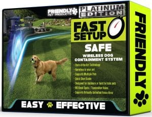 Friendly Pet Products Wireless Dog Fence