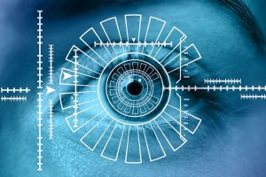 retina scan biometric security